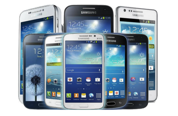 Samsung Mobile Phone PNG - 5480