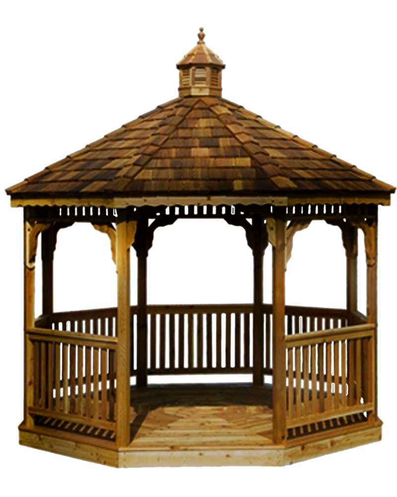 Png Gazebo by Moonglowlilly PlusPng.com  - Gazebo PNG