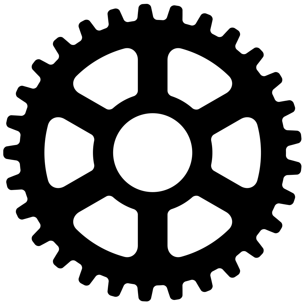 Gear Logo Vector PNG - 112649