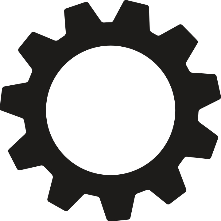 Gear, Mechanics, Settings, Icon - Gear Logo Vector PNG