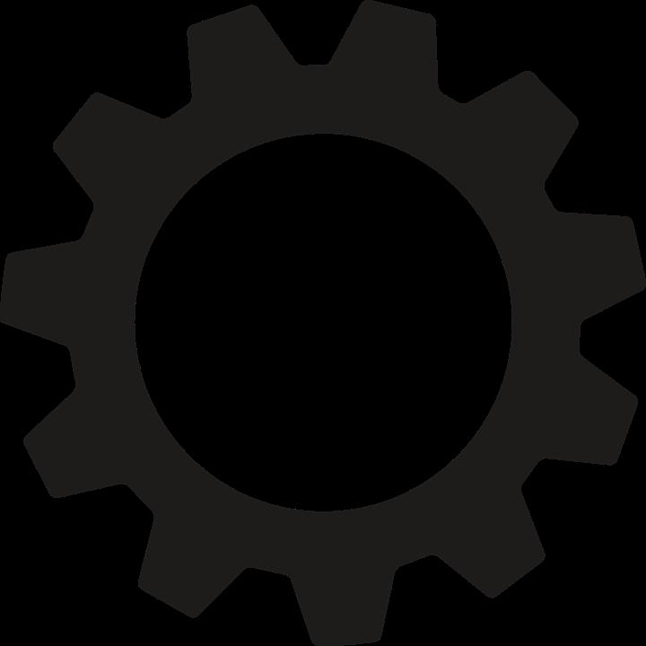 Gear Logo Vector PNG - 112641