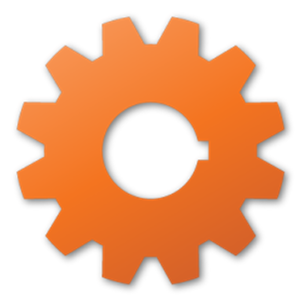 Gear Red Image - Gear Logo Vector PNG