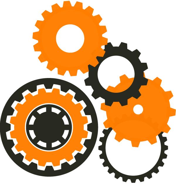 Gear Logo Vector PNG - 112648