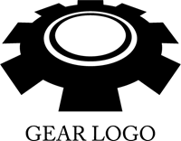 Gear Logo Vector PNG - 112643