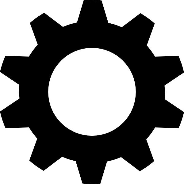 Gear Logo Vector PNG - 112645
