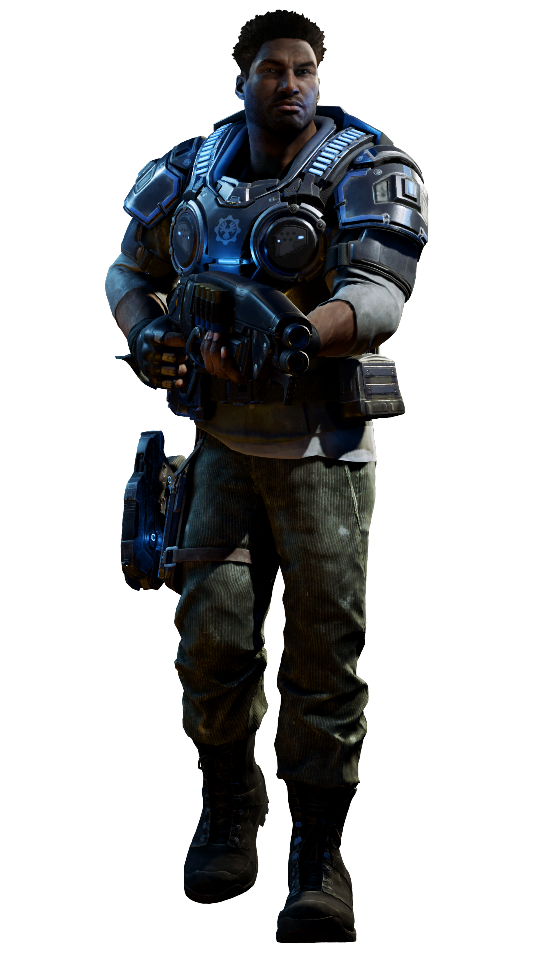 As is common knowledge among fans like myself, the Male figures are more  expanded on, showing an increase in body size, and exaggerated muscles. - Gears Of War HD PNG