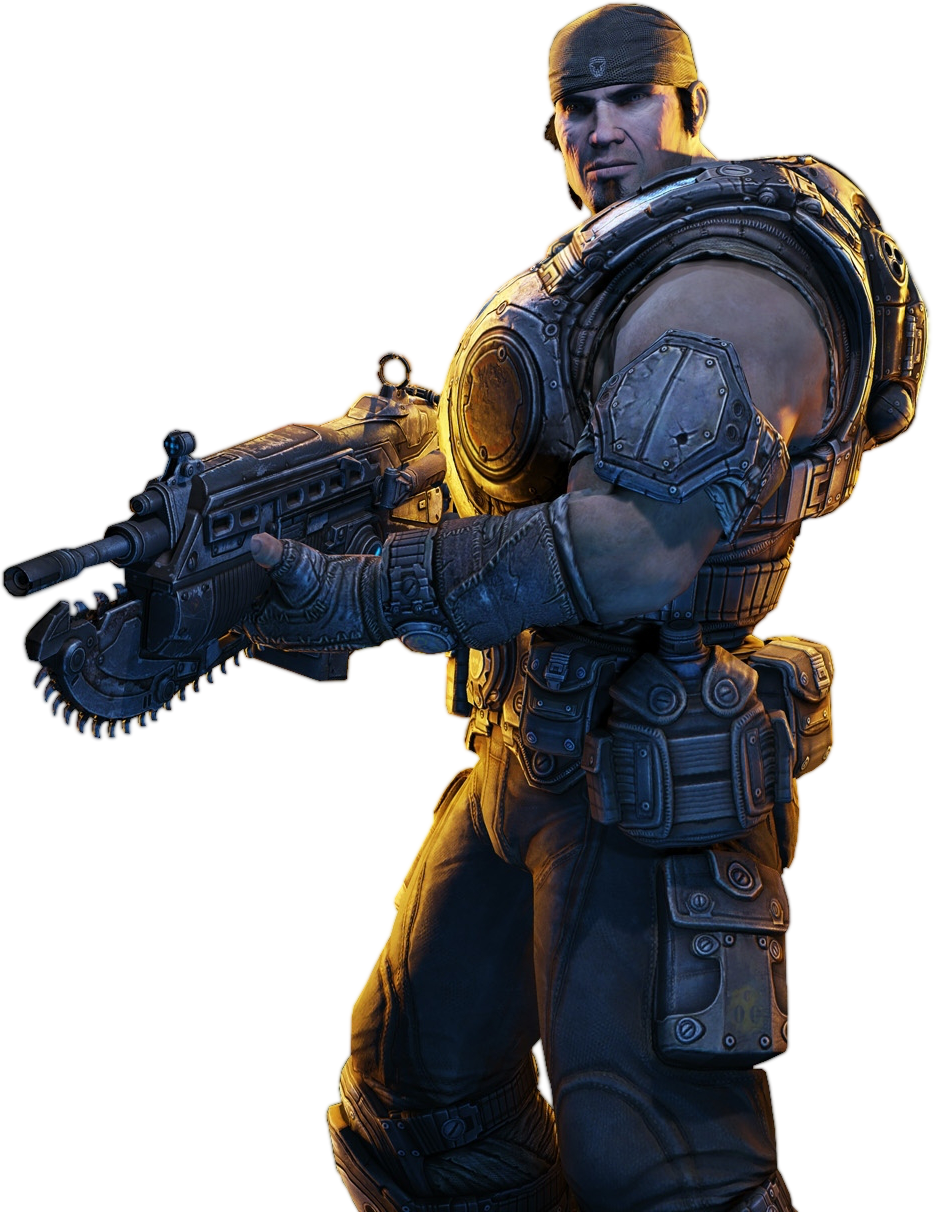 Gears Of War HD PNG