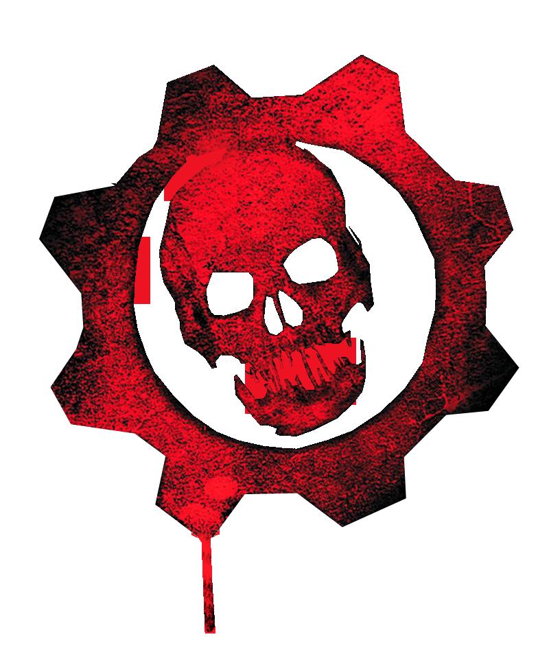 gears of war logo | Oskar Herrera - Gears-Of-War-Skull- - Gears Of War HD PNG