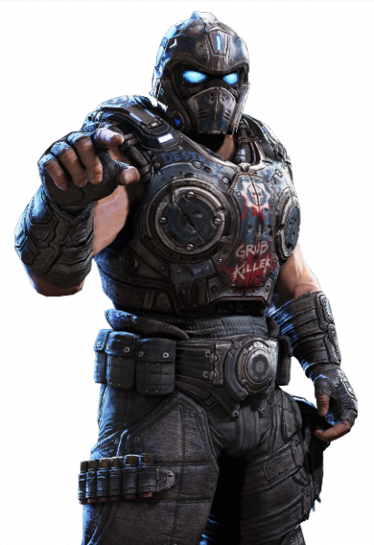 Before and After getting a new TV. - Gears Of War PNG