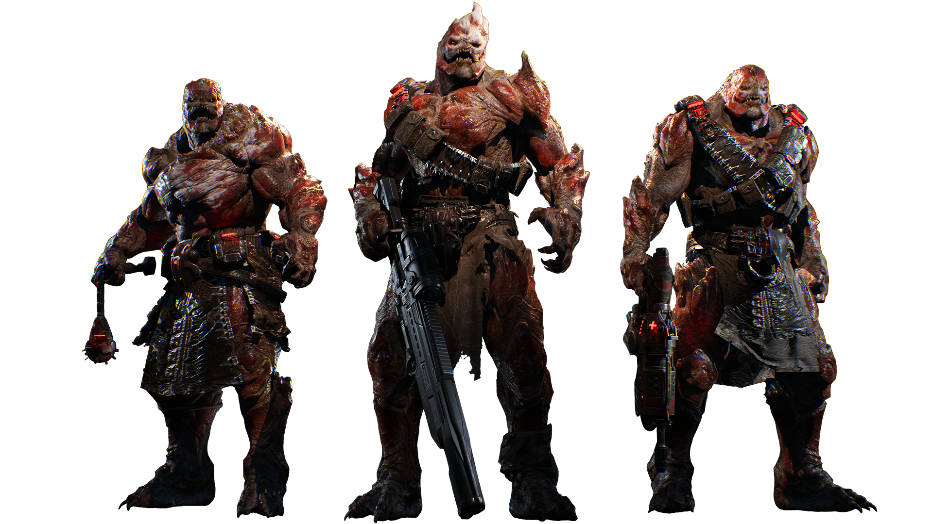 Gears-of-War-4_Character_Drone-Lineup.png1920x1080 2.1 MB - Gears Of War PNG