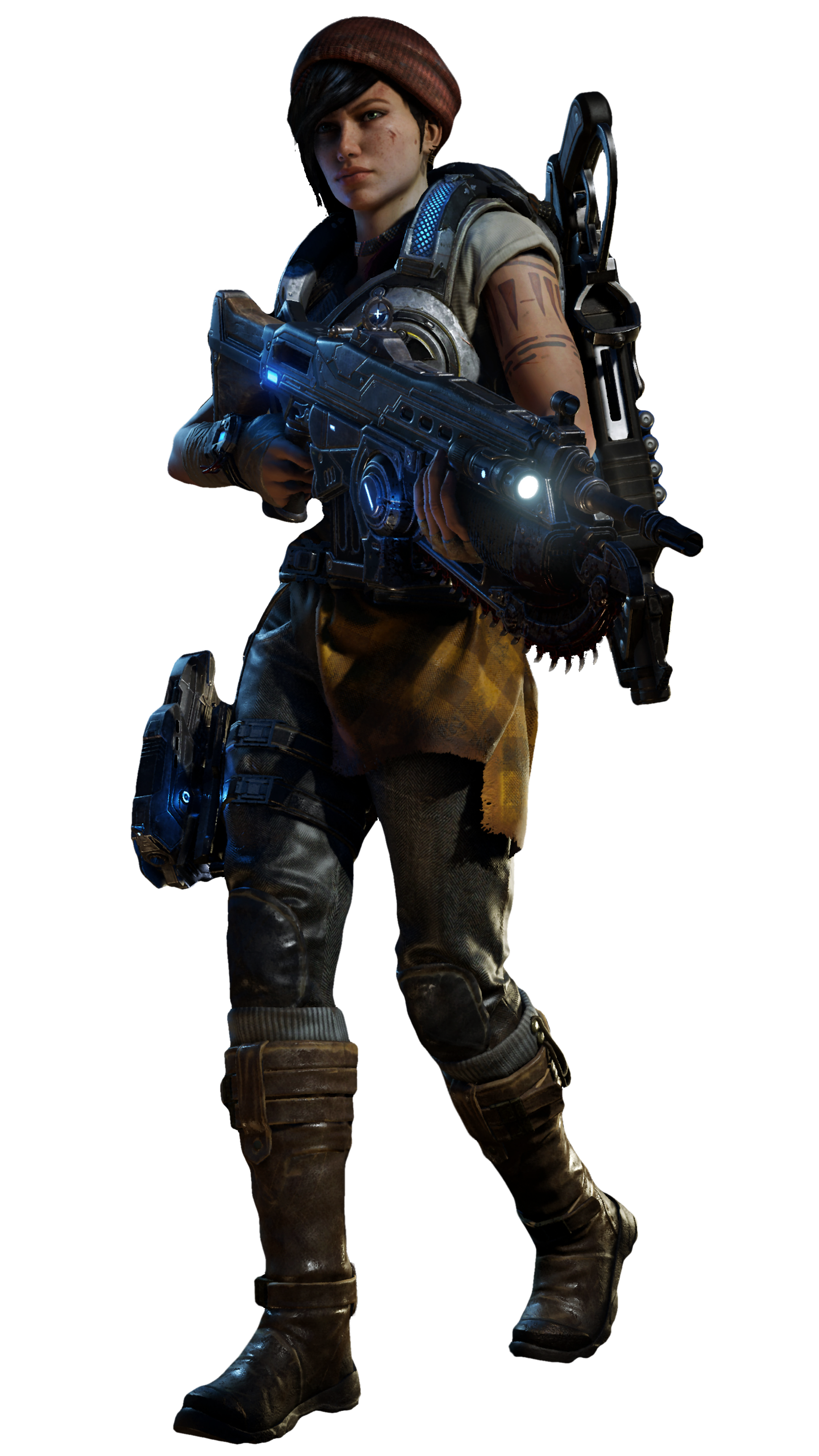 Gears-of-War-4_Character_Kait.png1856x3300 3.66 MB - Gears Of War PNG