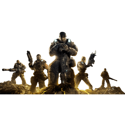 Gears Of War Group - Gears Of War PNG