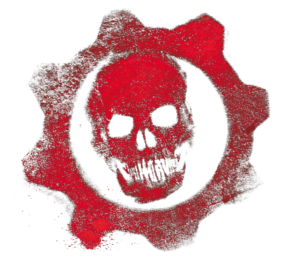 Gears of war logo by alexakaducky-d45v9oq.png - Gears Of War PNG