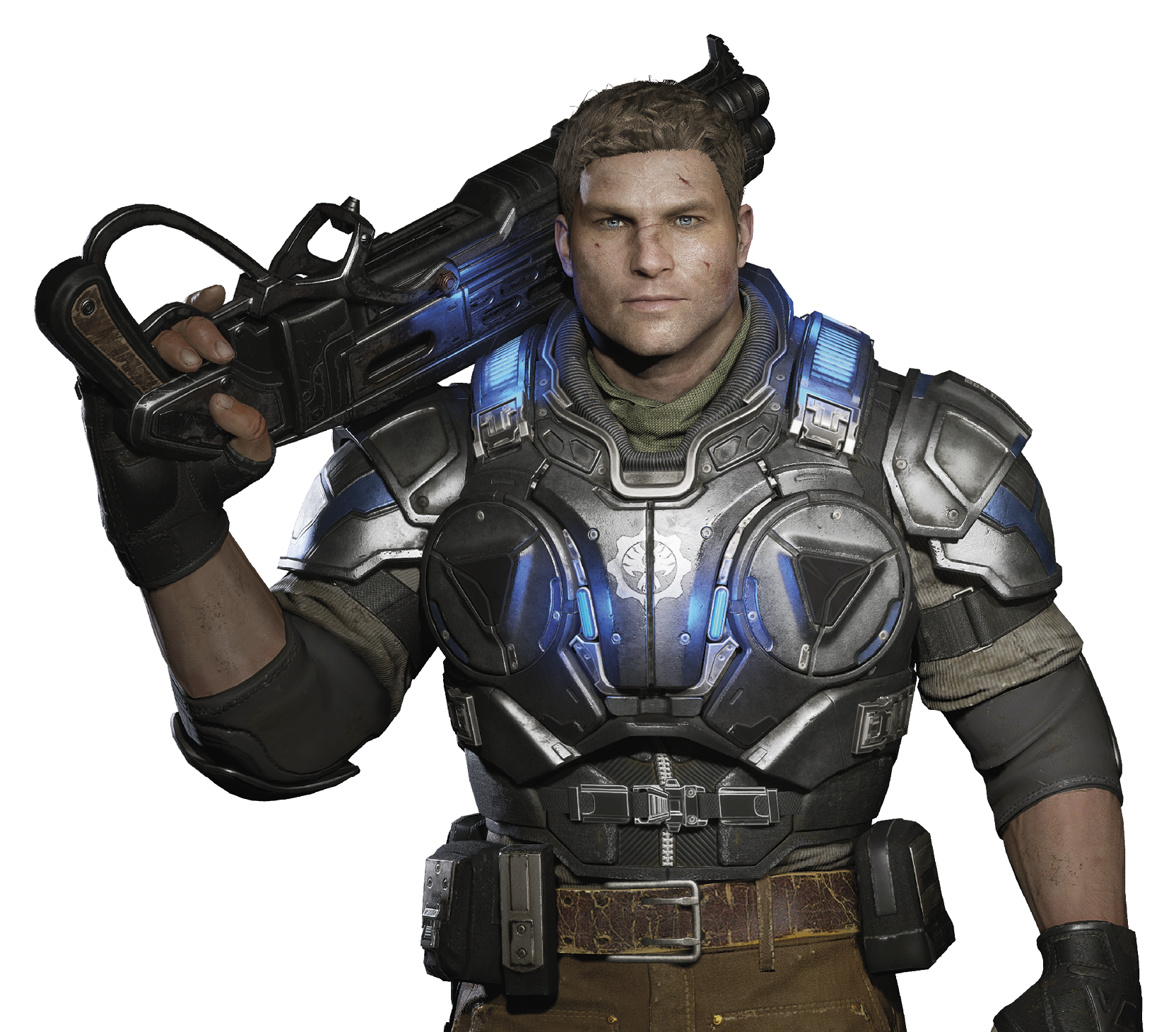 JD Fenix - Gears Of War PNG