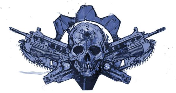 MarcusTattoo.png - Gears Of War PNG