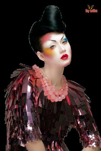 Geisha-Mika.png - Geisha PNG