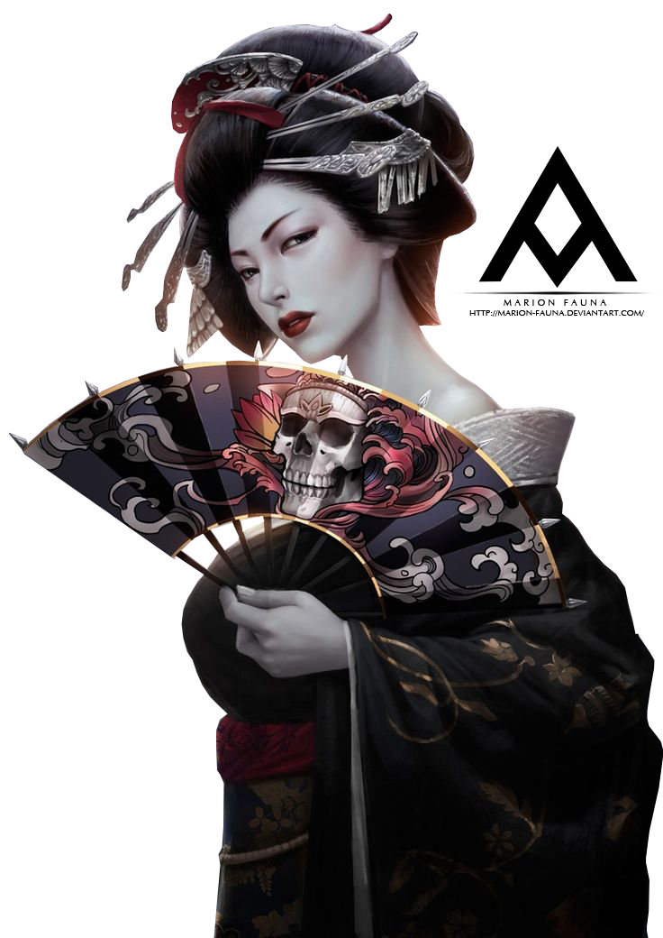 RADIANTWH0R3 60 6 [Render] Geisha by Azathoth-N - Geisha PNG