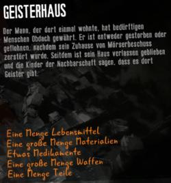 Geisterhaus - Geisterhaus PNG