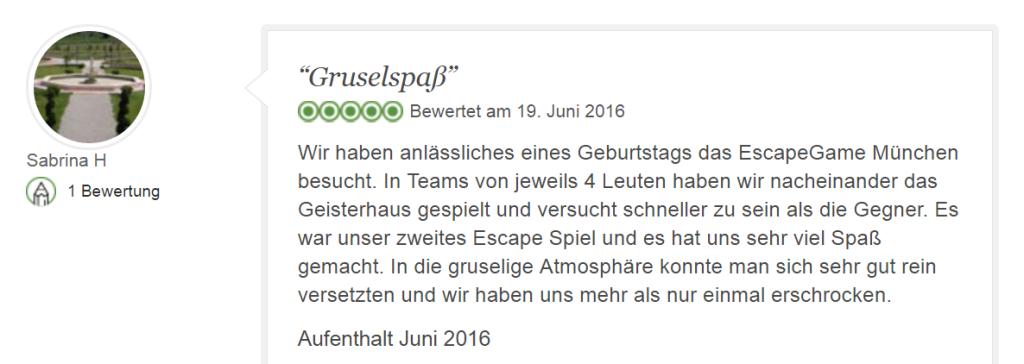 Tripadvisor Bewertung Escape Game Geisterhaus: Grusel-Spaß - Geisterhaus PNG