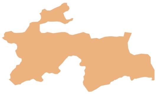 Geo Map - Asia - Tajikistan - Tajikistan PNG