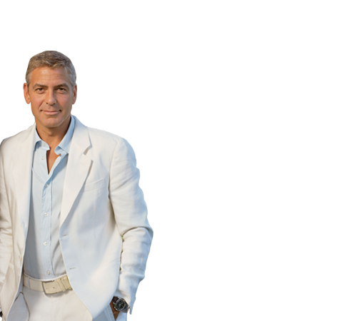 George Clooney PNG