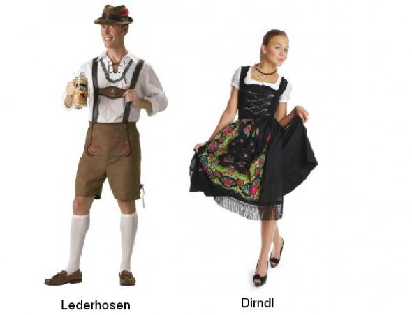 German Clothing - German Lederhosen PNG