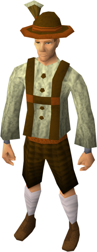 Lederhosen clothing (male) equipped.png - German Lederhosen PNG