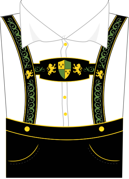 German Lederhosen PNG - 43577