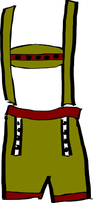 German Lederhosen PNG - 43568