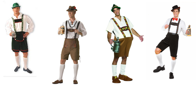 German Lederhosen PNG - 43569