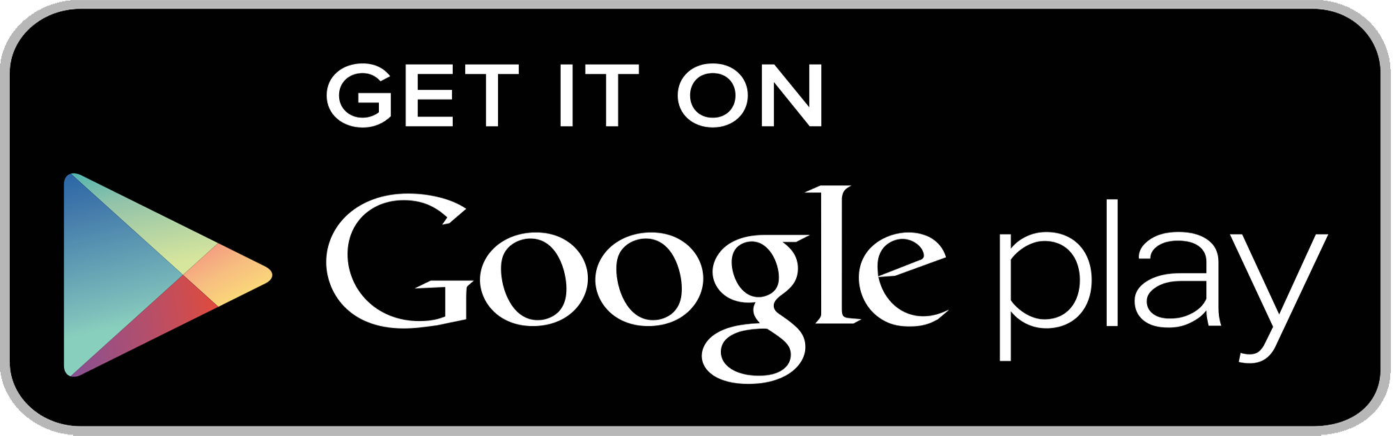 Get It On Google Play Badge PNG - 110342