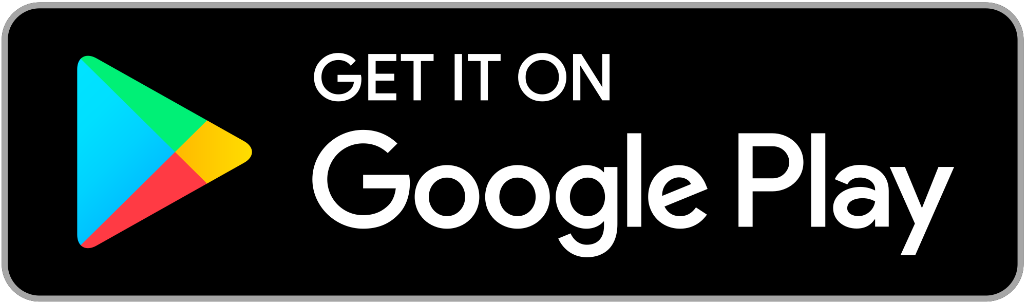 Get It On Google Play Badge PNG - 110340