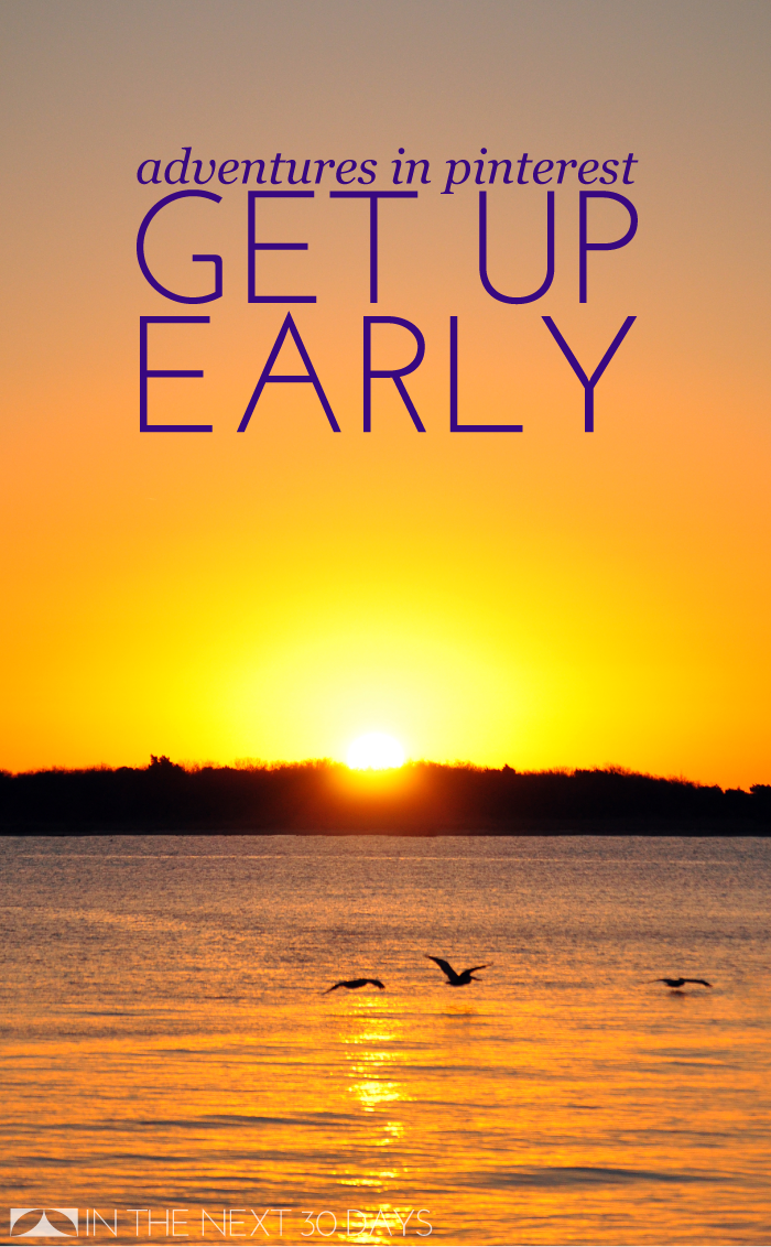 Proof that you should wake up with the sun, and advice from Pinterest on how - Get Up Early In The Morning PNG