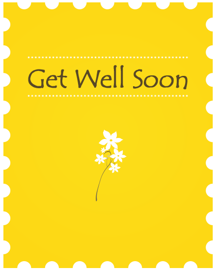 Create Group Greeting Card - Get Well Card PNG