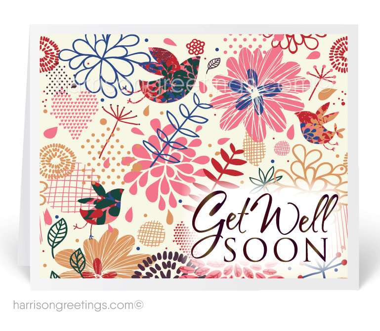 Get Well Soon Greeting Card - Get Well Card PNG