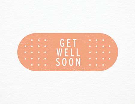 Band Aid Get Well Card - Get Well Soon PNG HD
