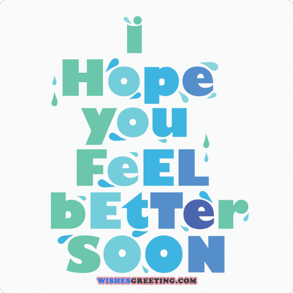 Get Well Soon PNG HD - 127925
