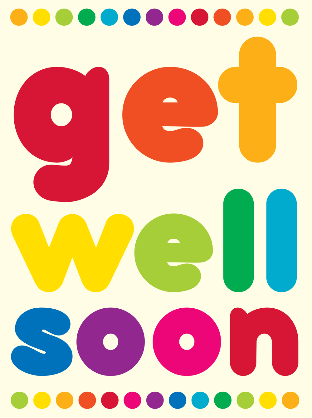 Get Well Soon PNG HD