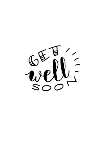 Get Well Soon, Baby! Hereu0027s The Free Download File For You To Print Out - Get Well Soon PNG HD