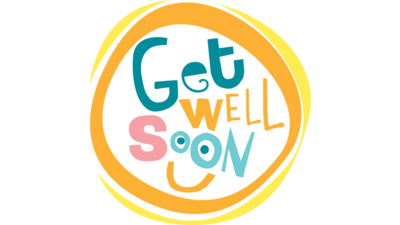 Get Well Soon In Circle With Smile - Feel Better Soon PNG - Get Well Soon PNG HD
