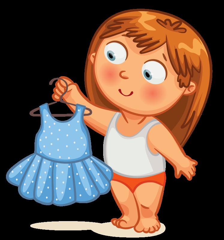 Clip art Kid Getting Dressed - PNG Get Dressed Kids - Getting Dressed PNG HD