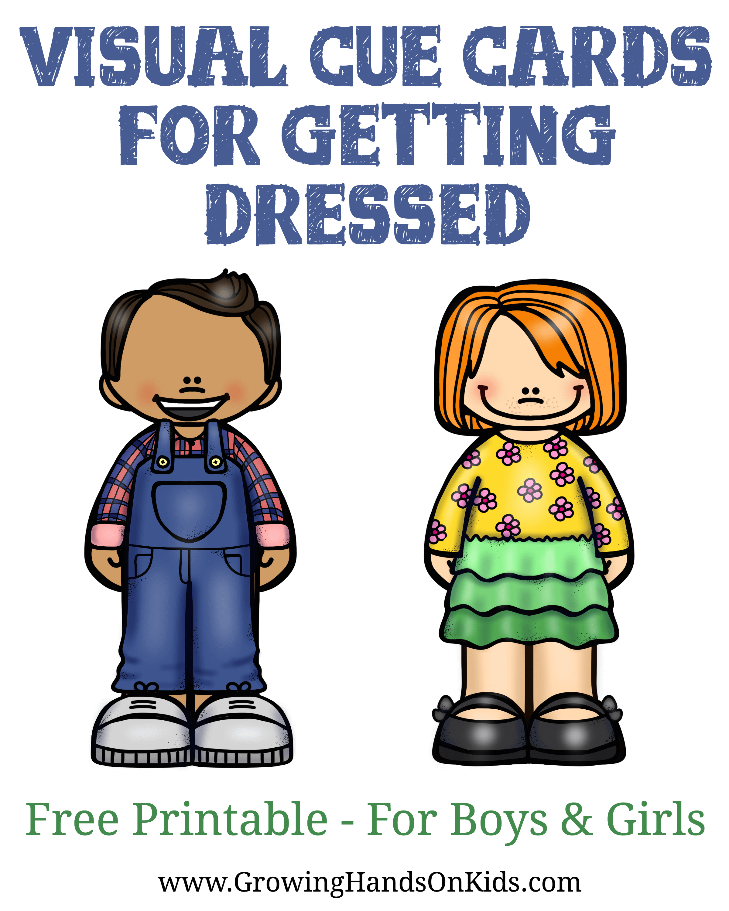 Visual cue cards for getting dressed, free printable for kids! - PNG Get  Dressed - Getting Dressed PNG HD