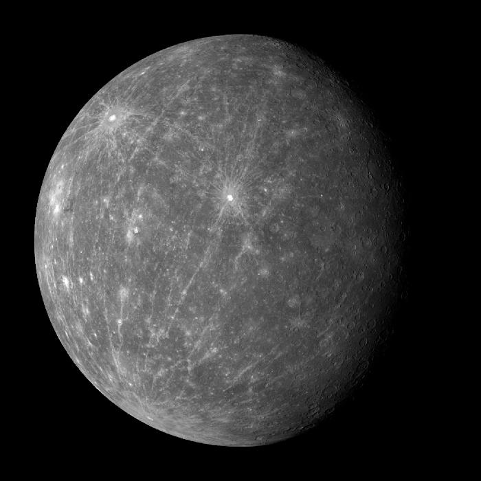 Merkür: Güneşu0027e en yakın olan gezegendir. O kadar uyuşukturki Güneşu0027in  etrafında iki tur döndüğünde kendi etrafında üç tur dönmüş olur. - Gezegenler PNG