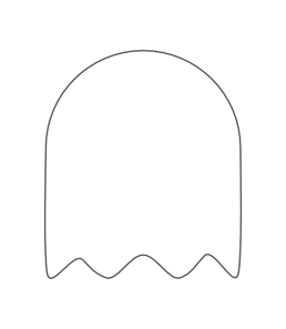 Ghost PNG Black And White - 67212