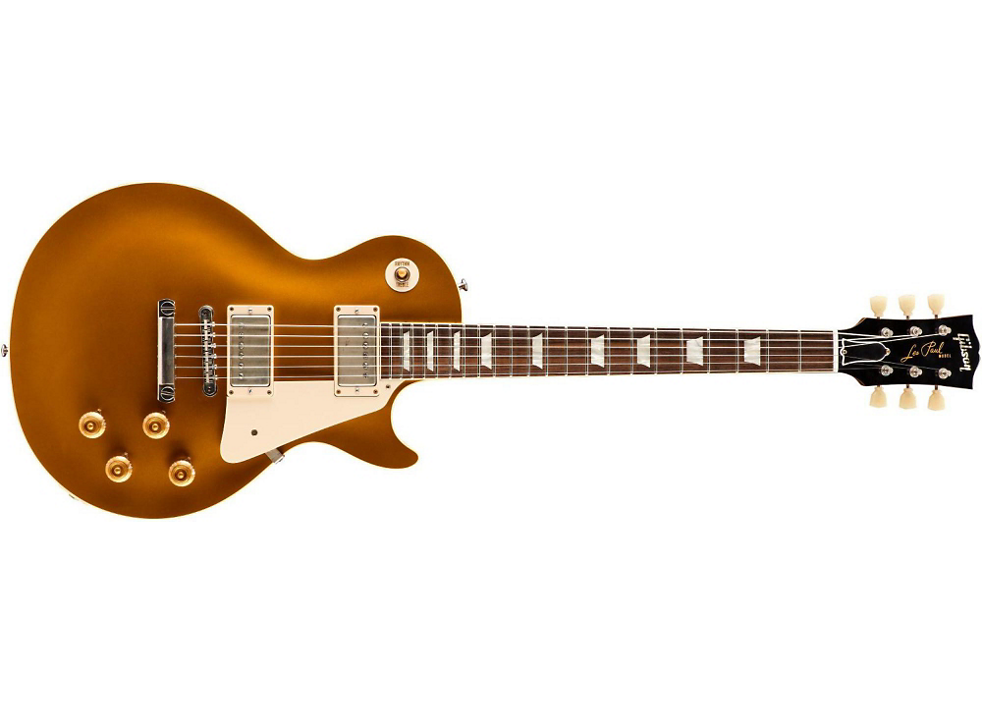 Gibson Custom Shop 1957 Les Paul Standard Reissue VOS - Darkback Gold Top -  Long u0026 McQuade Musical Instruments - Gibson PNG