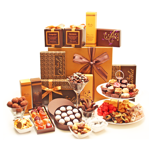 Gift Basket PNG HD - 125745