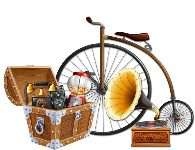Antique PNG HD - Gift Basket PNG HD