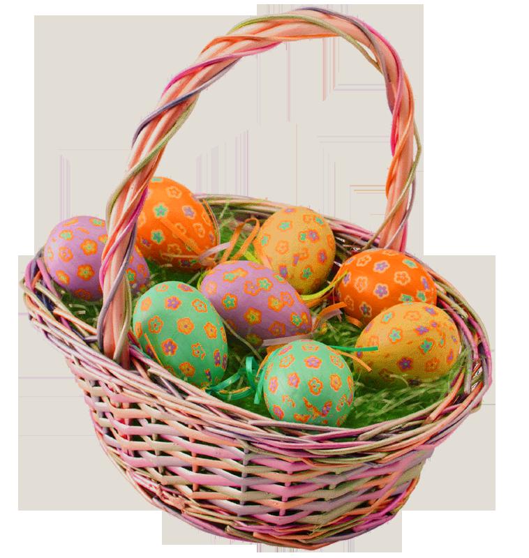 Easter Basket PNG HD - Gift Basket PNG HD