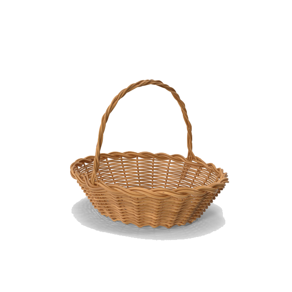 Empty Easter Basket PNG HD - Gift Basket PNG HD