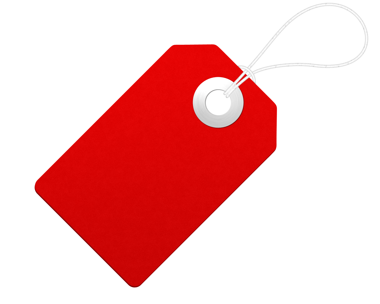 Blank Tag PNG HD - Gift Tag PNG